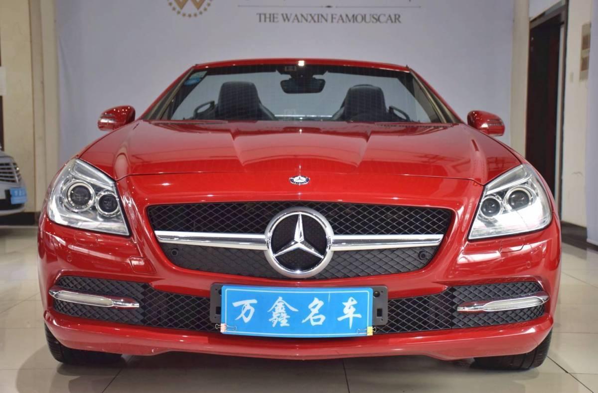 奔馳 奔馳SLK級  2011款 SLK 200 時尚型圖片
