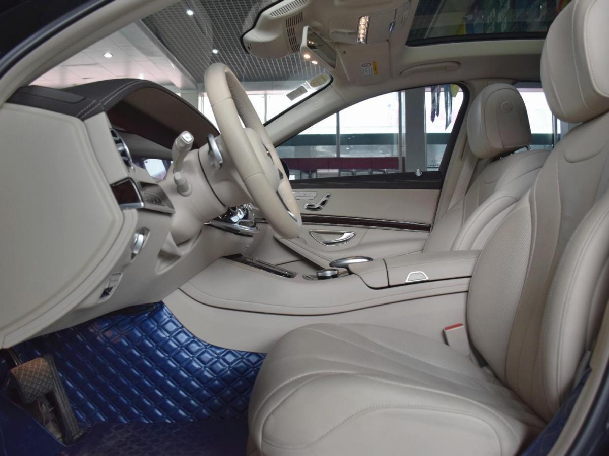 奔驰 奔驰S级 2018款 改款  S 320 L图片