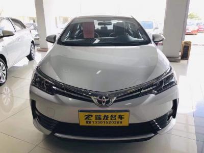 2017年4月 丰田 卡罗拉  改款 1.2T S-CVT GL-i真皮版图片