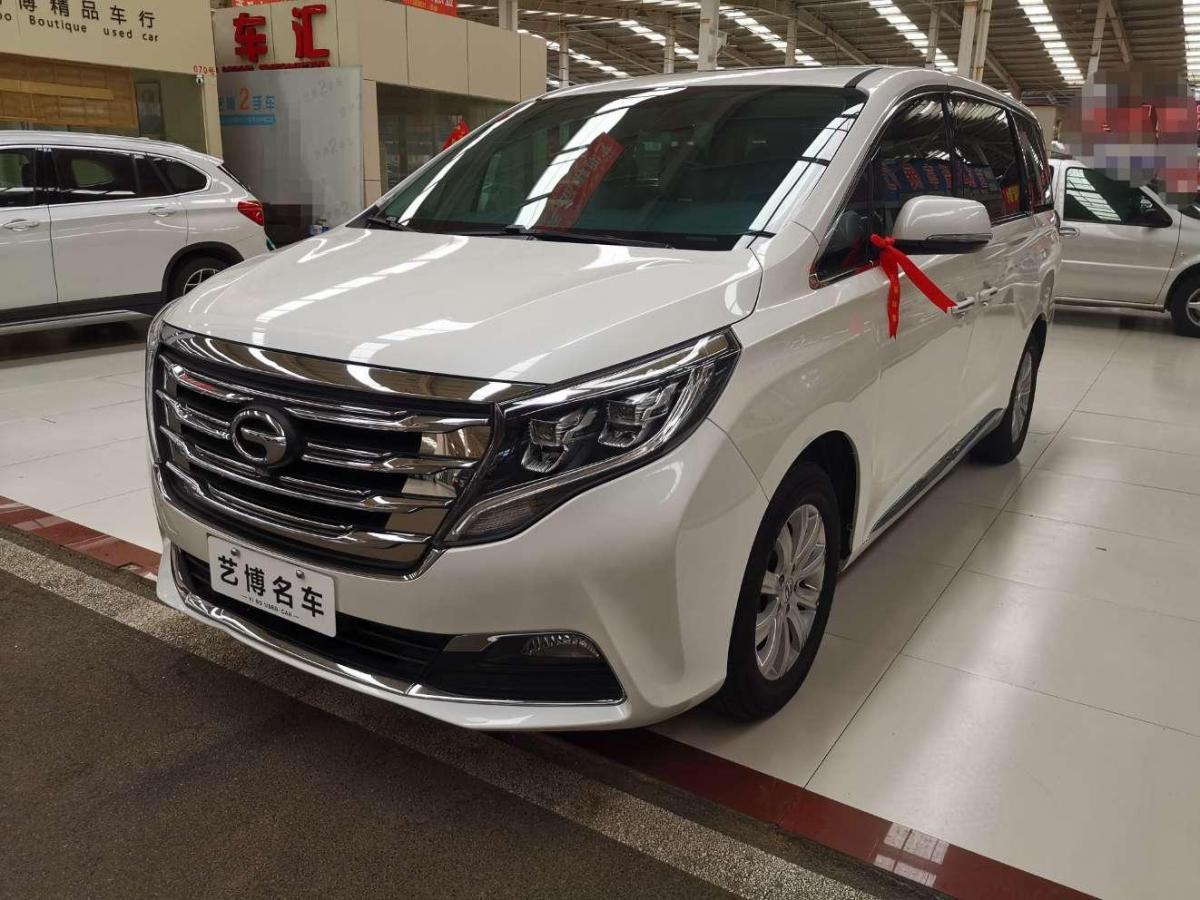 2018年6月 广汽传祺 GM8 320T 豪华版