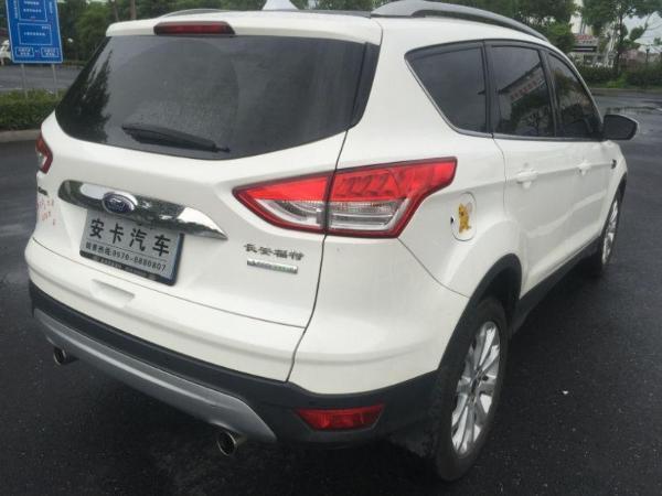 【衢州】2014年3月 福特 翼虎 1.6gtdi 两驱风尚型 白色 自动档