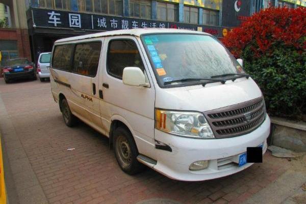 【六安】2006年3月 福田 风景 爱尔法-快运 2.2 kzq-cl 白色 手动挡