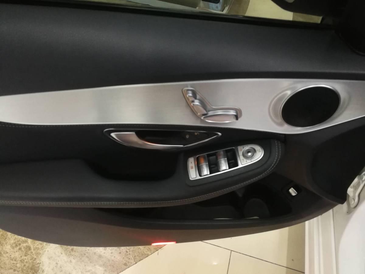 奔驰 奔驰C级  2017款 改款 C 200 运动版图片