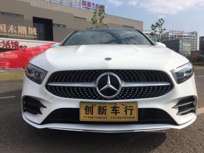 奔馳 奔馳A級  2019款  改款 A 200 L 運動轎車圖片