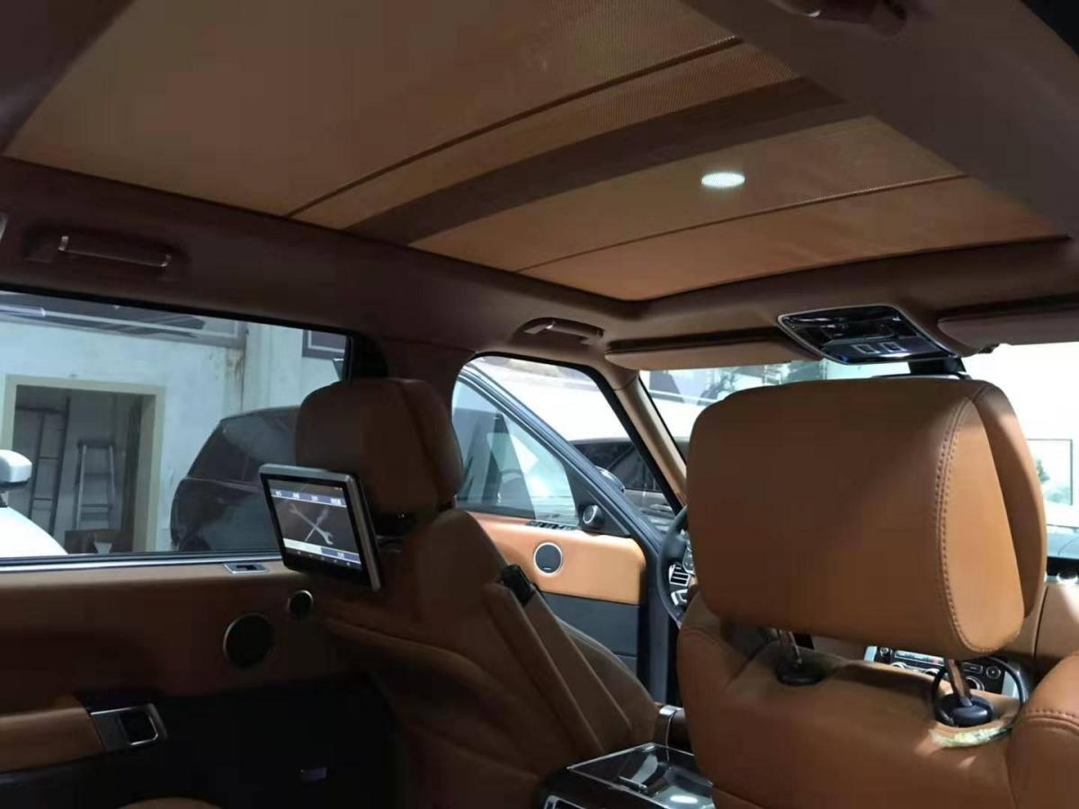 【宁波】2017年8月 路虎 揽胜行政版 2017款 3.0T SC AB 尊崇创世加长版 汽油型 手自一体图片