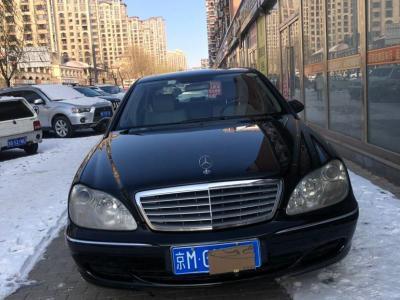 奔驰 奔驰S级  2004款 S 600图片