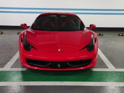 2011年6月 法拉利 458  4.5L Italia圖片