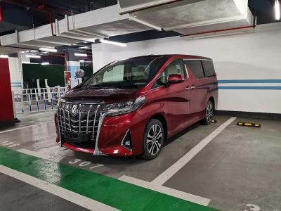 2019年6月 豐田 埃爾法(進口) 改款 3.5L 豪華版圖片