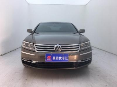 2015年8月 大众 辉腾(进口) 3.6L V6 4座加长Individual版图片