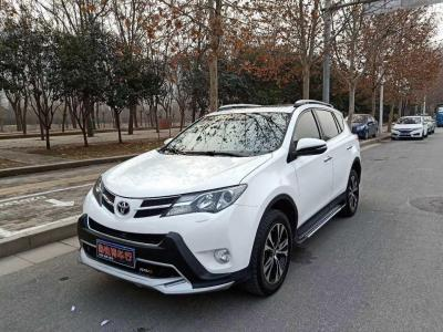 丰田 RAV4荣放  2013款 2.5L 自动四驱豪华版