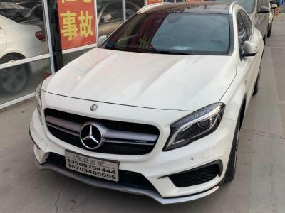 奔馳 奔馳GLA AMG  2016款 AMG GLA 45 4MATIC圖片