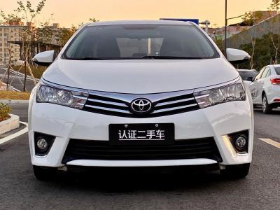 2016年8月 丰田 卡罗拉 1.6L CVT GL-i炫酷版图片