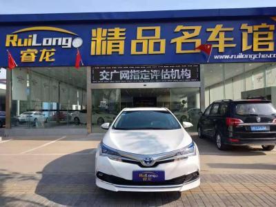 2017年6月 丰田 卡罗拉  改款双擎 1.8L E-CVT精英版图片