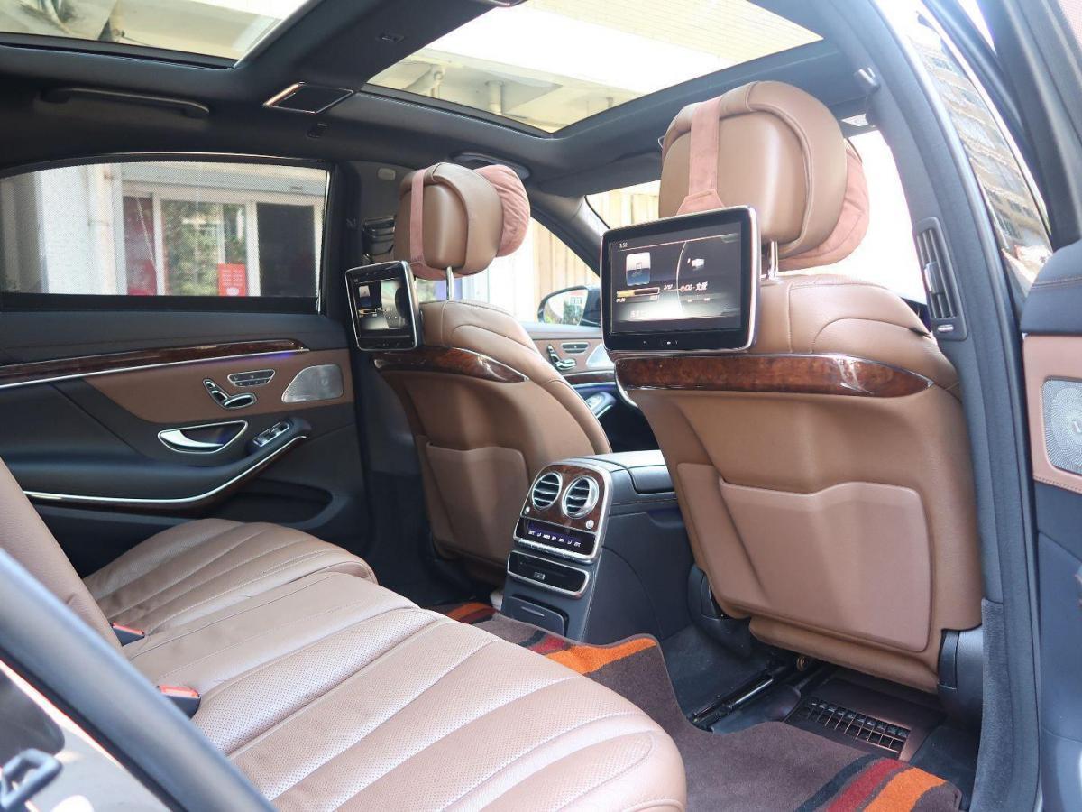 奔驰 奔驰S级  2016款 S 320 L 豪华型图片