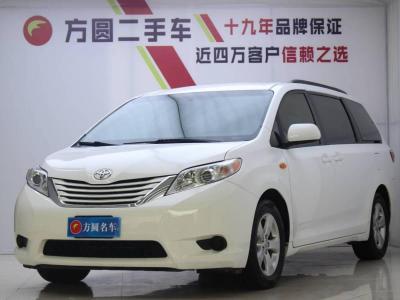 丰田 塞纳  2015款 3.5L 两驱LE