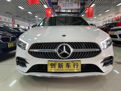 2019年9月 奔驰 奔驰A级 改款 A 200 L 运动轿车图片