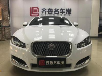 捷豹 XF  2.0T 豪华版 涡轮增压