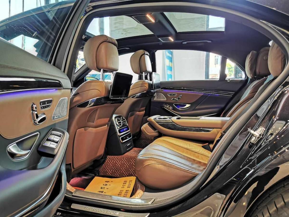 奔驰 奔驰S级  2019款 S 450 L图片