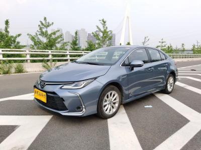 丰田 卡罗拉  2019款 双擎 1.8L E-CVT旗舰版
