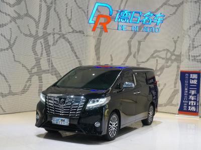 2018年1月 丰田 埃尔法(进口) 3.5L 豪华版图片