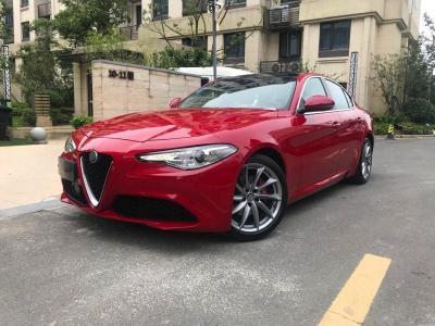 2019年7月 阿尔法·罗密欧 Giulia 2.0T 280HP 豪华版图片