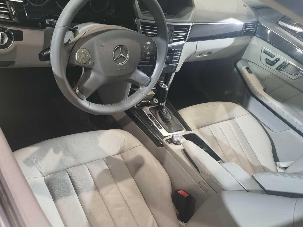 奔驰 奔驰E级  2010款 E 200 CGI 优雅型图片