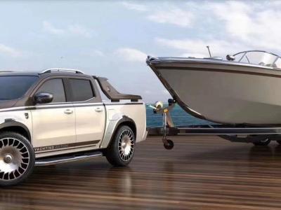 2019款奔驰X250D柴油皮卡 图片