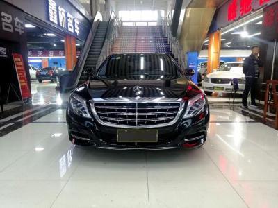 奔驰 迈巴赫S级  2016款 S 400 4MATIC