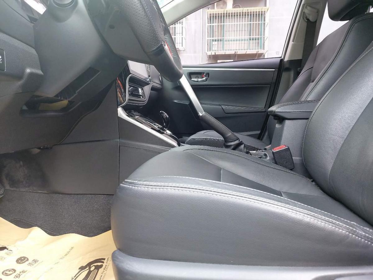 丰田 卡罗拉  2017款 改款双擎 1.8L E-CVT精英版图片