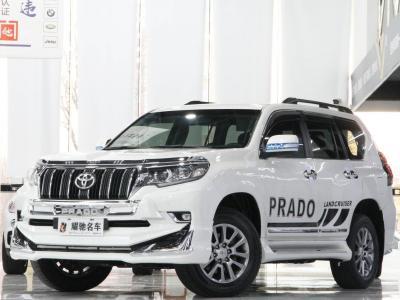 丰田 普拉多  2018款 3.5L 自动TX-L NAVI后挂备胎