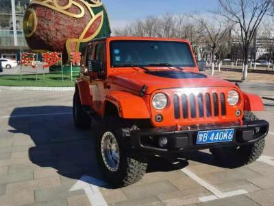 Jeep 牧马人  2015款 2.8TD Sahara 四门舒享版