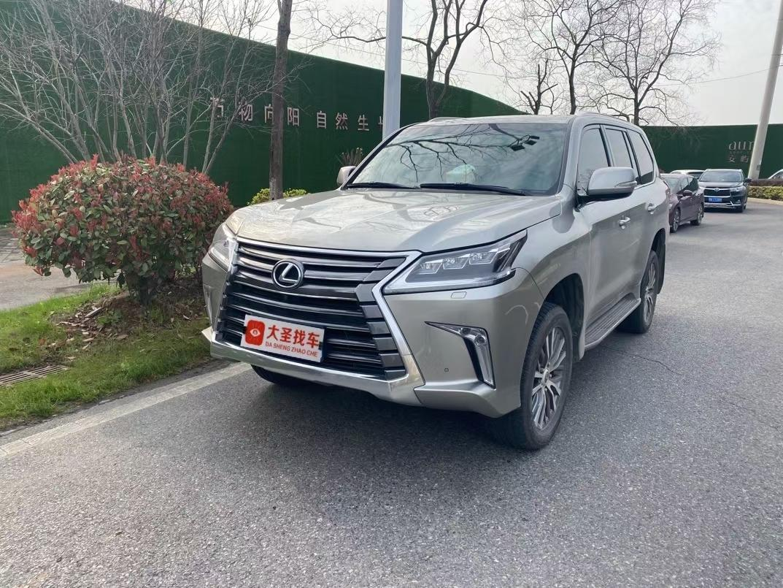 武汉二手2019款雷克萨斯LX570动感豪华手自一体报价162.8万