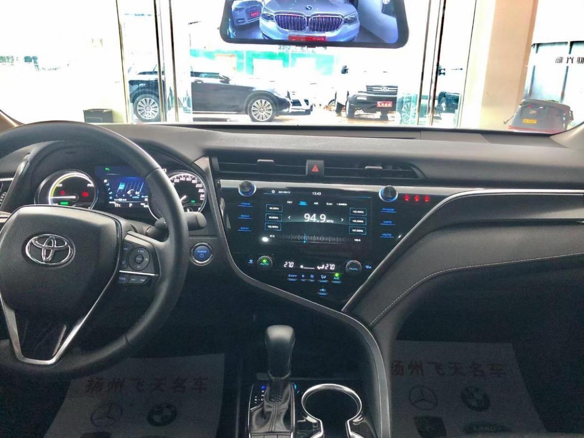 丰田 凯美瑞  2021款 双擎 2.5HS 锋尚版图片