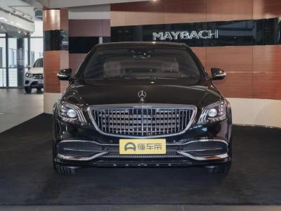 2019年3月 奔驰 迈巴赫S级 改款 S 450 4MATIC图片