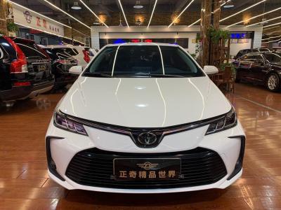 丰田 卡罗拉  2021款 1.2T S-CVT 豪华版