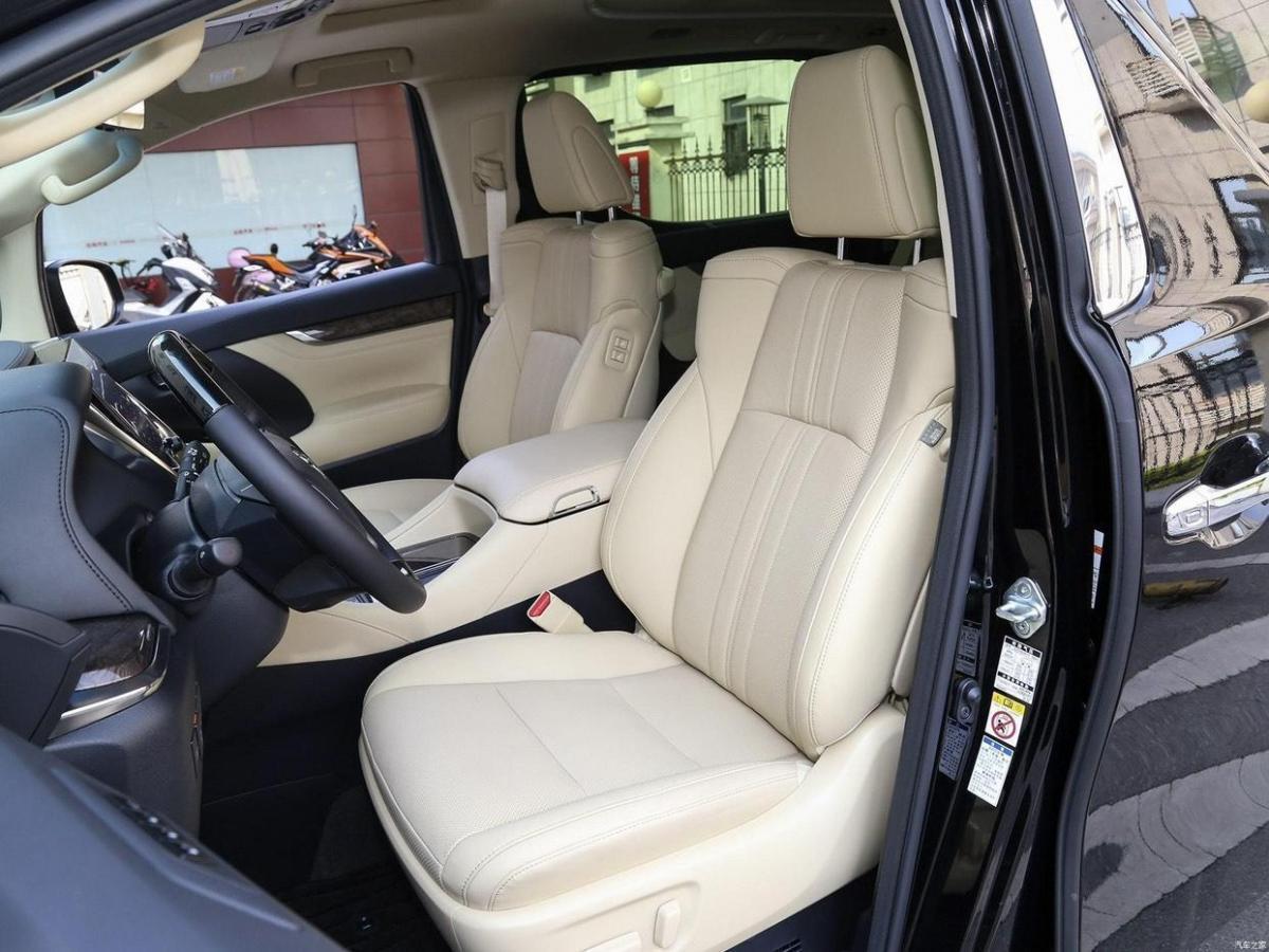 丰田 埃尔法  2020款 双擎 2.5L 黄金特别版图片