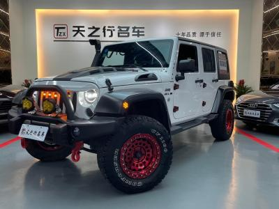 Jeep 牧馬人  2012款 3.6L Sahara 四門版