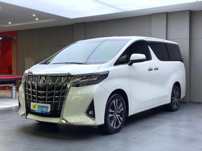 2018年08月 丰田 埃尔法(进口) 3.5L 豪华版图片