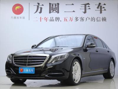 奔驰 奔驰S级  2014款 S 600 L