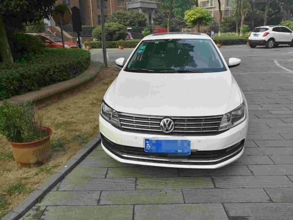 【徐州】2016年6月 大众 朗逸 1.6 豪华版 白色 手动挡图片