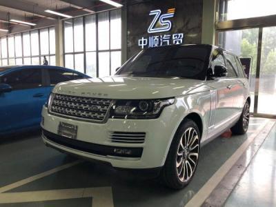 2018年9月 路虎 揽胜行政版 5.0T SC AB 尊崇创世加长版 汽油型图片
