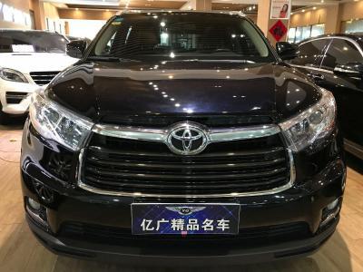 2017年8月 丰田 汉兰达 2.0T豪华版图片