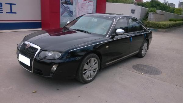 【上海】2008年8月荣威750e2.5贵雅版意思自动档红旗h5型动版是什么黑色图片