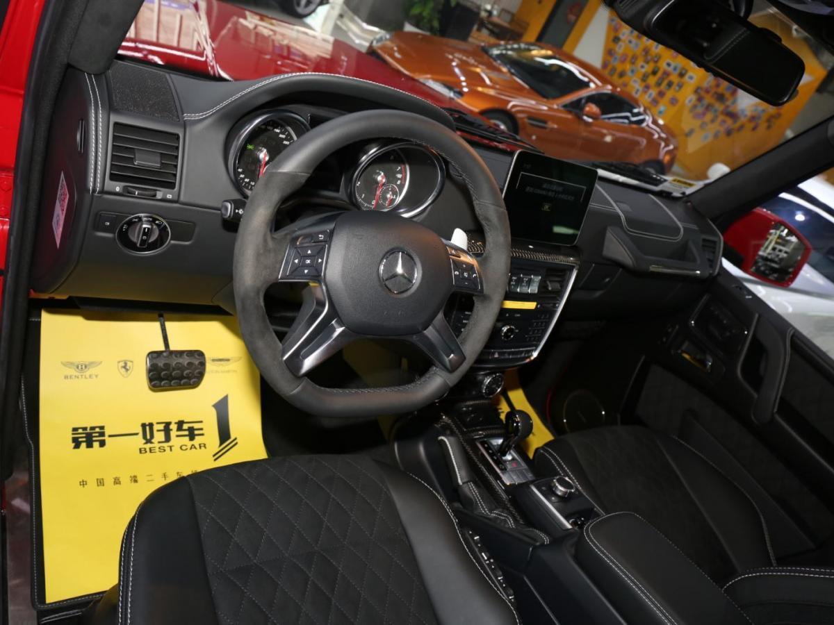 奔驰 奔驰G级 G550 4.0T 4x4²图片