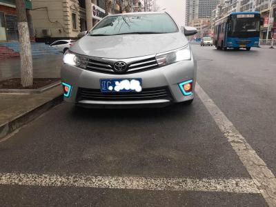 丰田 卡罗拉  2014款 1.6L CVT GL-i 真皮版