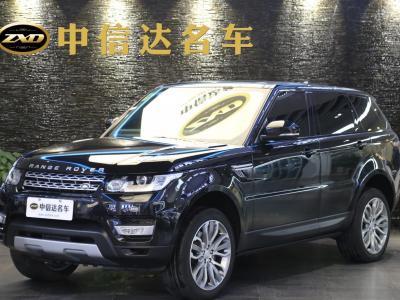 路虎2016款 揽胜运动版 3.0 V6 柴油 欧规型
