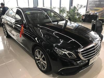 奔馳 奔馳E級  2017款 E 300 L 豪華型圖片