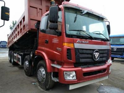 年4月库存国四欧曼ETX前四后八自卸车-2010年 二手ETX欧曼自卸车