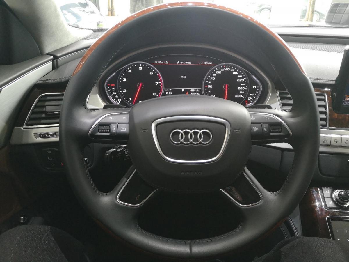 奥迪 奥迪A8  2013款 A8L 6.3 FSI W12 quattro旗舰型图片