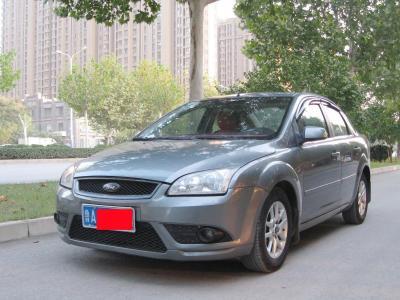 福特 福克斯  2007款 三廂 1.8L 自動時尚精英型